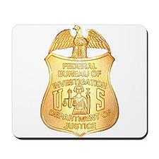 FBI Badge Mousepad