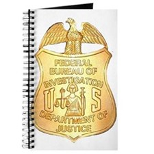 FBI Badge Journal