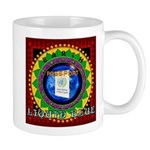 Liquid Blue Mug with Earth Passport CD Art