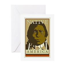 Native America Greeting Card