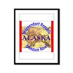 Alaska-3 Framed Panel Print