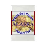 Alaska-3 Rectangle Magnet (10 pack)