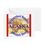 Alaska-3 Greeting Cards (Pk of 10)