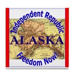 Alaska-3 Tile Coaster