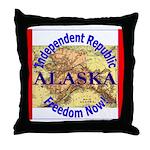 Alaska-3 Throw Pillow
