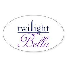 Twilight: Bella Oval Decal