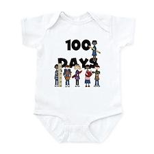 School Children 100 Days Infant Bodysuit