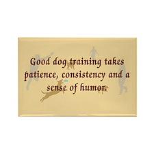Good Dog Training Rectangle Magnet
