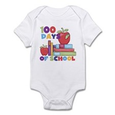 Books 100 Days Infant Bodysuit