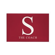 S The Coach Rectangle Magnet