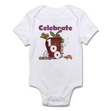 Bugs and Apple 100 Days Infant Bodysuit