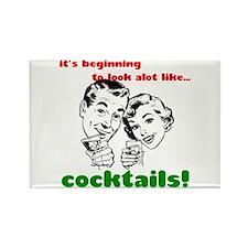 Cocktails! Rectangle Magnet (100 pack)