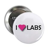 I LUV LABS Button