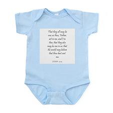 JOHN  17:21 Infant Creeper