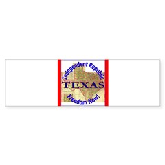 Texas-3 Bumper Sticker (50 pk)