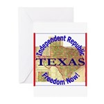 Texas-3 Greeting Cards (Pk of 10)