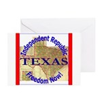 Texas-3 Greeting Cards (Pk of 20)