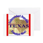 Texas-3 Greeting Card