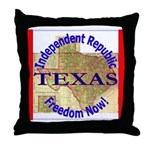 Texas-3 Throw Pillow