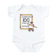 Bear 100 Days Infant Bodysuit