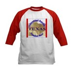Texas-3 Kids Baseball Jersey