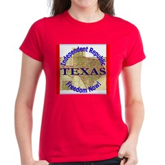 Texas-3 Women's Dark T-Shirt