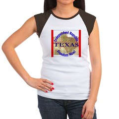 Texas-3 Women's Cap Sleeve T-Shirt