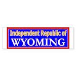 Wyoming-2 Bumper Sticker (50 pk)