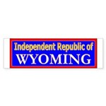 Wyoming-2 Bumper Sticker