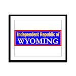 Wyoming-2 Framed Panel Print
