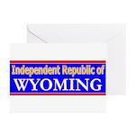 Wyoming-2 Greeting Cards (Pk of 20)