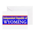 Wyoming-2 Greeting Card