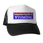 Wyoming-2 Trucker Hat