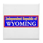Wyoming-2 Tile Coaster