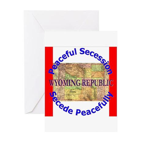 Wyoming-1 Greeting Card