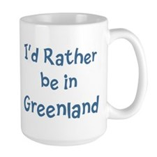 Rather be in Greenland Mug