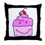 Scratch Cake Throw Pillow