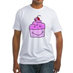 Scratch Cake Fitted T-Shirt
