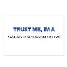 Trust Me I'm a Sales Support Executive Postcards (