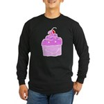 Scratch Cake Long Sleeve Dark T-Shirt