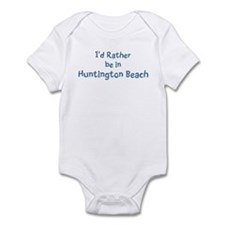 Rather be in Huntington Beach Infant Bodysuit