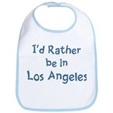 Rather be in Los Angeles Bib