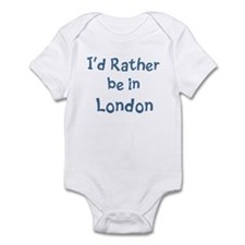 Rather be in London Infant Bodysuit