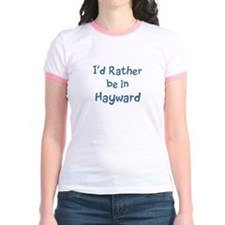 Rather be in Hayward Jr. Ringer T-Shirt