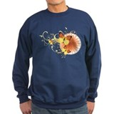 Yellow Butterflies Sweatshirt