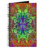 Cute Psychedelic paisley Journal