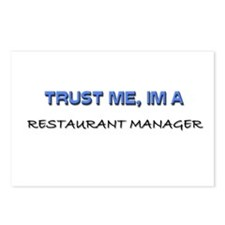 Trust Me I'm a Restaurant Manager Postcards (Packa