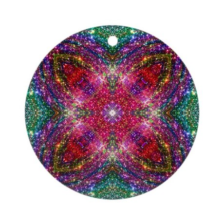 Shimmering Jewel Ornament (Round)