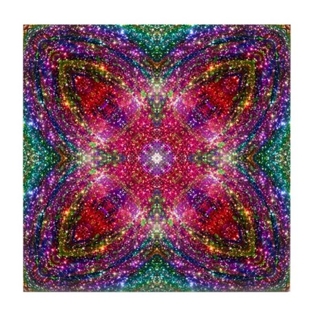 Shimmering Jewel Tile Coaster