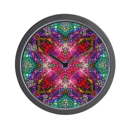 Shimmering Jewel Wall Clock